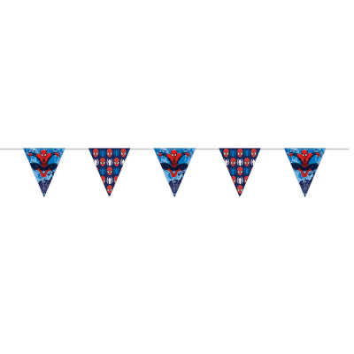 Spiderman Bunting Flag
