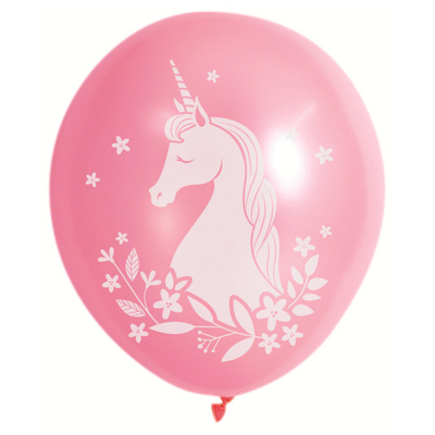 Unicorn Party Heilum Quality Printed Latex Balloon 10PK
