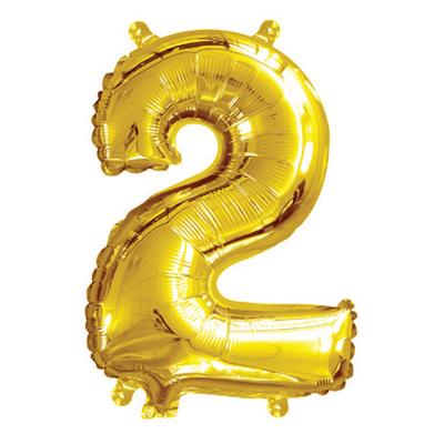 35cm 14 Inch Gold Foil Balloon 2