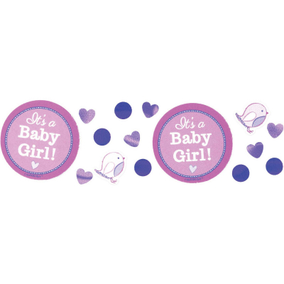Shower With Love Girl Confetti Value Pack 34g