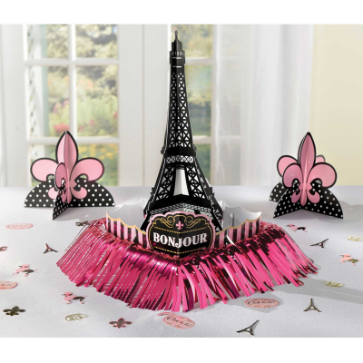 Day in Paris Table Decorating Kit 23PK
