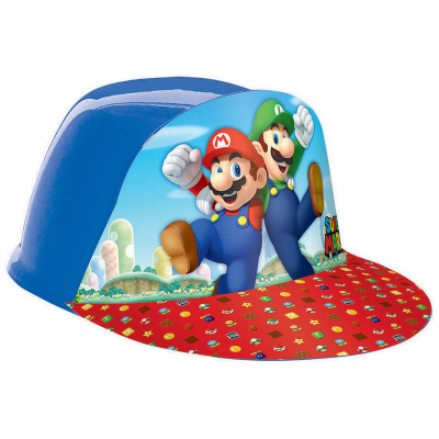 Super Mario Brothers Vac Form Hat