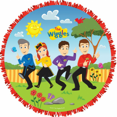 The Wiggles Pull String Pinata