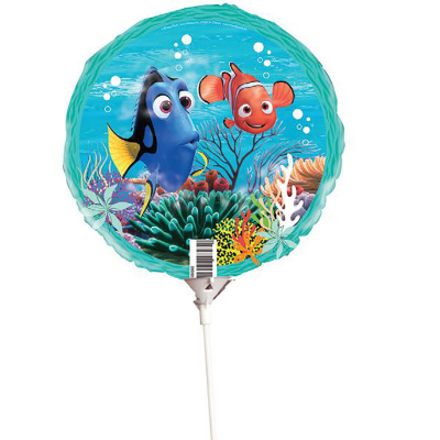 Finding Nemo 22cm Foil Balloon On Stick