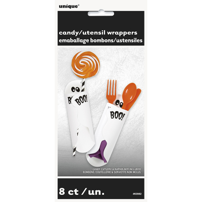 Ghost Candy Utensil Wrapper 8PK