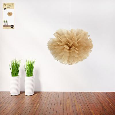 50cm Natural Decorative Puff
