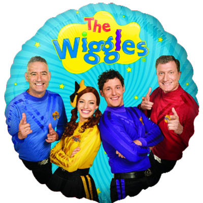 The Wiggles 45cm Standard Foil Balloon