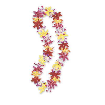 Luau Flower Lei Tropical