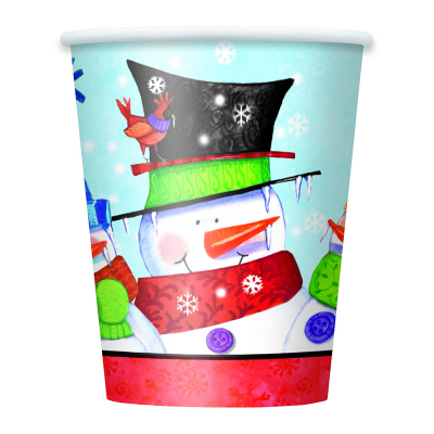 Snowman Buddies Cup 8PK