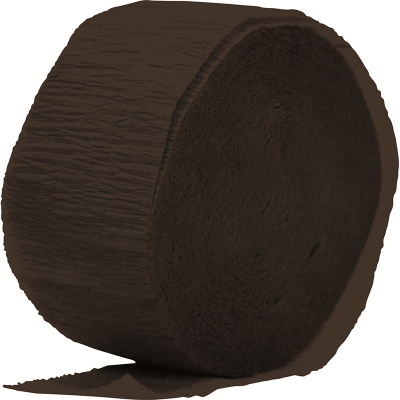 Crepe Paper Streamer 24M Black