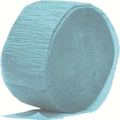 Crepe Paper Streamer 24M Pastel Blue