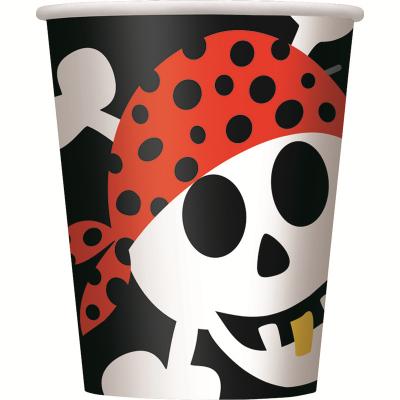 Pirate Fun Paper Cups 8PK