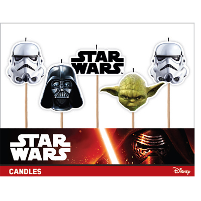 Star Wars Candle 5PK