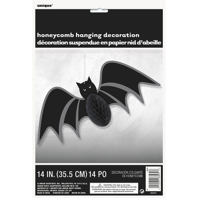 Bat Hanging Honeycomb
