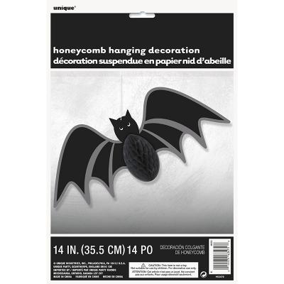 Bat Hanging Honeycomb