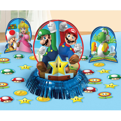 Super Mario Brothers Table Decorating Kit 23PK