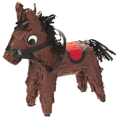 Western Mini Horse Pinata Decoration