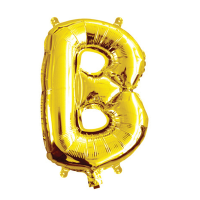 35cm 14 Inch Gold Foil Balloon B
