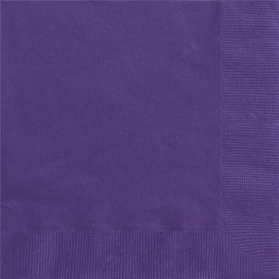 Luncheon Napkin Purple 20PK