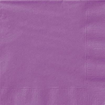 Lunch Napkins Purple 20PK