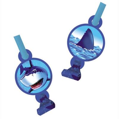 Shark Splash Blowouts With Medallion 8PK