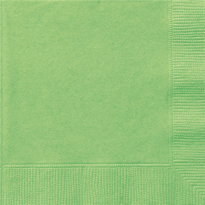 Lunch Napkins Lime 20PK