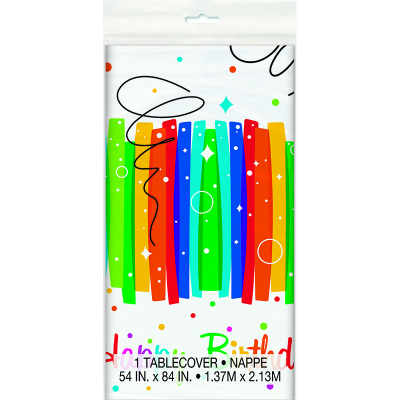 Rainbow Ribbons Tablecover