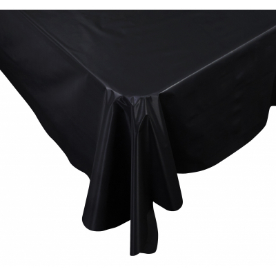Five Star Rectangle Tablecover 2.7m Black