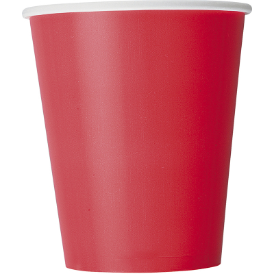 Paper Cups - Red 8PK
