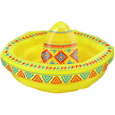 Inflatable Sombrero Drink Cooler