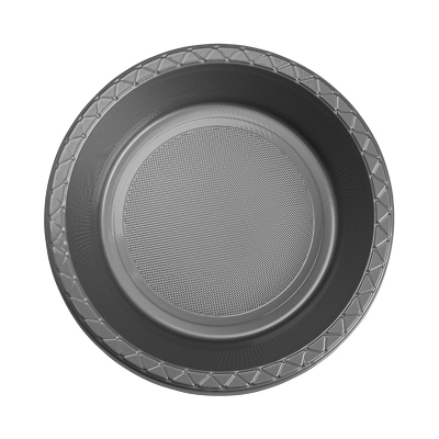 Five Star Round Dessert Bowl 17cm Metallic Silver 20PK