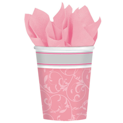 Blessings Pink 266ml Cups 8PK