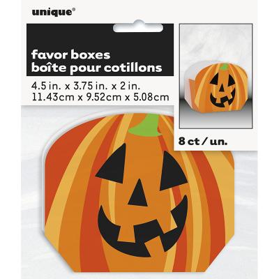 Pumpkin Treat Box 8PK