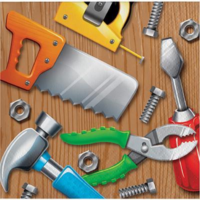 Handyman Tools Beverage Napkins 16PK