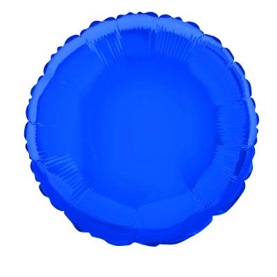 Round 45cm Foil Balloon Royal Blue