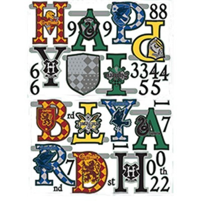 Harry Potter Jumbo Add-An-Age Letter Banner