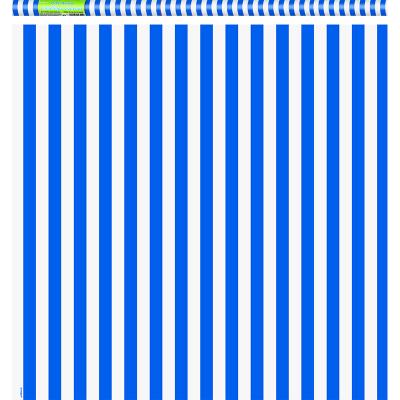 Stripe Royal Blue Gift Wrap Roll
