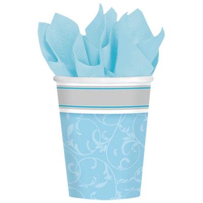 Blessings Blue 266ml Cups 8PK