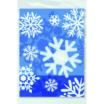 Snowflake Treat Bags 50PK