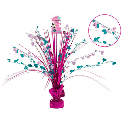 Minnie Fun To Be One Spray Centrepiece
