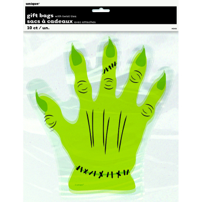 Monster Hand Cello Bags 10PK