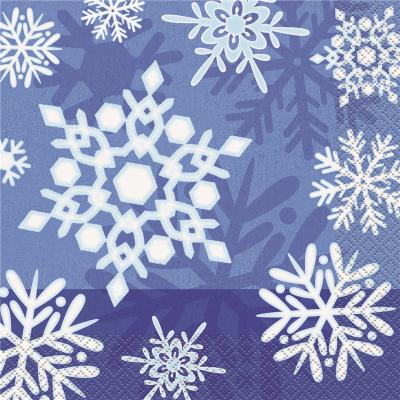 Snowflake Luncheon Napkins 16PK