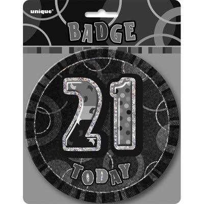 Glitz Birthday Black Badge 21st