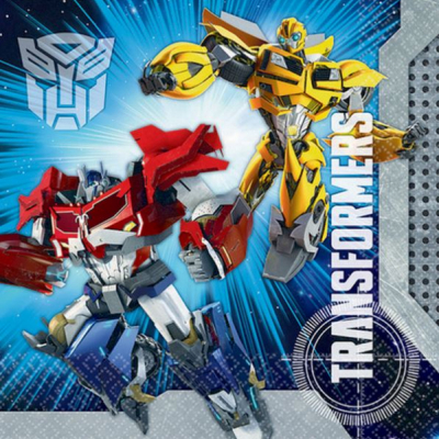Transformers Core Lunch Napkins 16PK