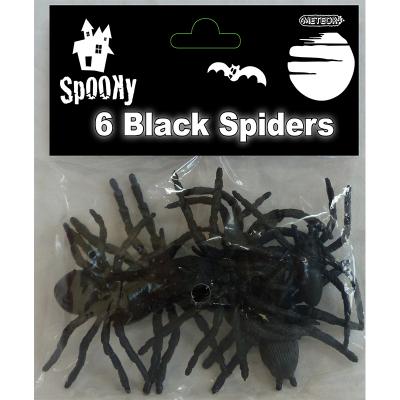 Black Spiders 6PK
