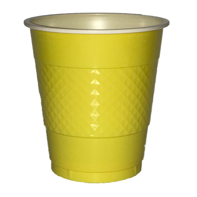 Five Star Cup 355ml Canary Yellow 20PK