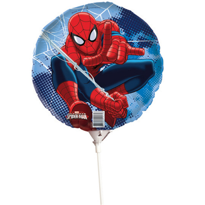 Spiderman Foil Balloon On Stick