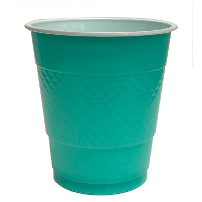 Five Star Cup 355ml Classic Turquoise 20PK