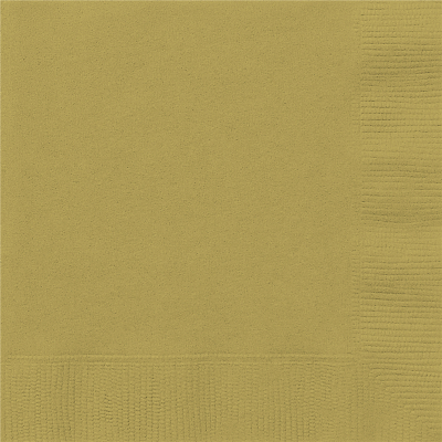 Luncheon Napkin Gold 20PK