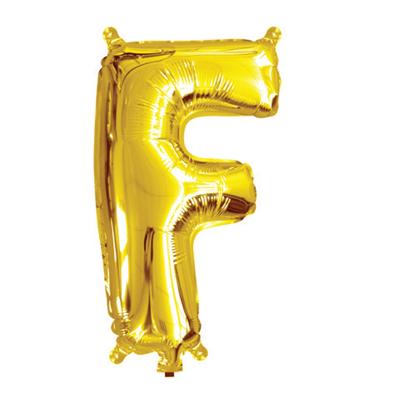 35cm 14 Inch Gold Foil Balloon F